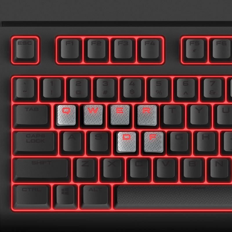 Corsair Announces STRAFE Mechanical Keyboard | techPowerUp