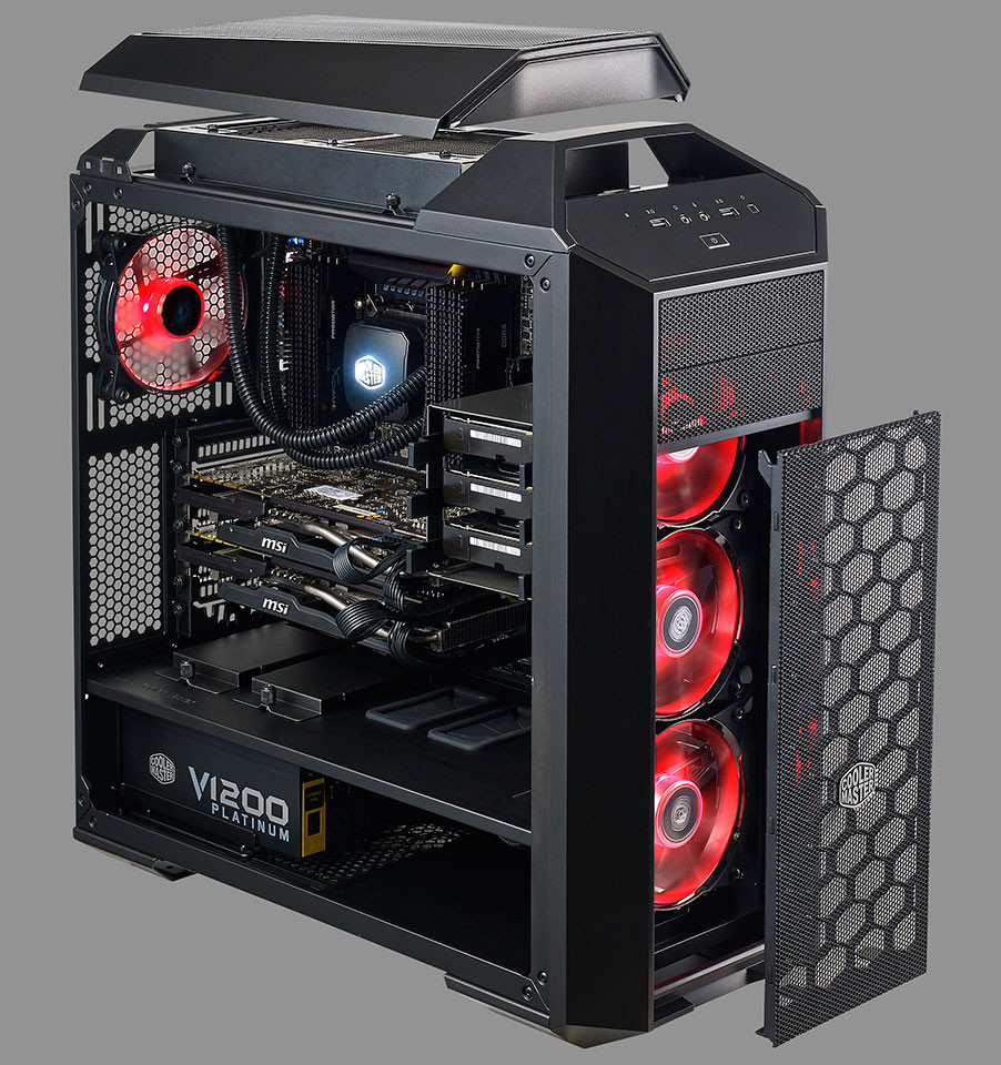cooler master launches the mastercase techpowerup forums. Black Bedroom Furniture Sets. Home Design Ideas