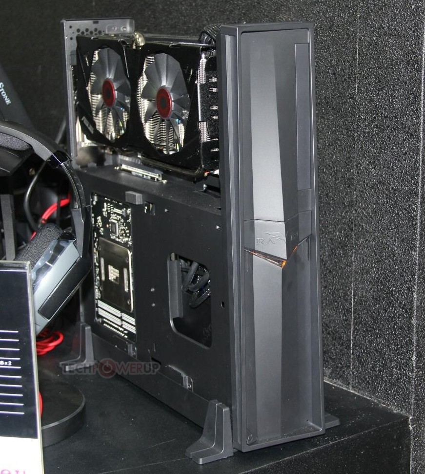 SilverStone Unveils Raven RVZ02 Mini-ITX Gaming Chassis ...