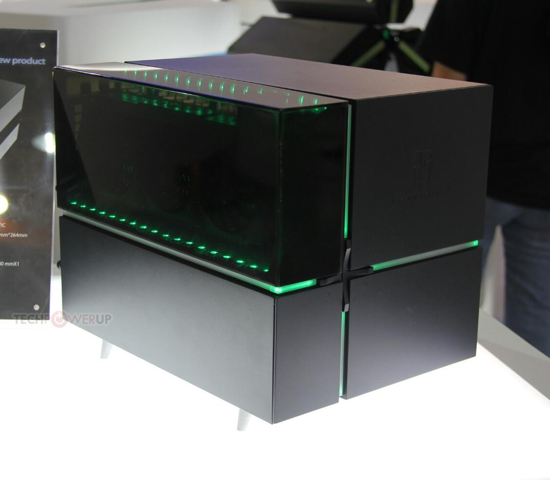 Deepcool Also Shows Off Gamerstorm Cube Case Techpowerup