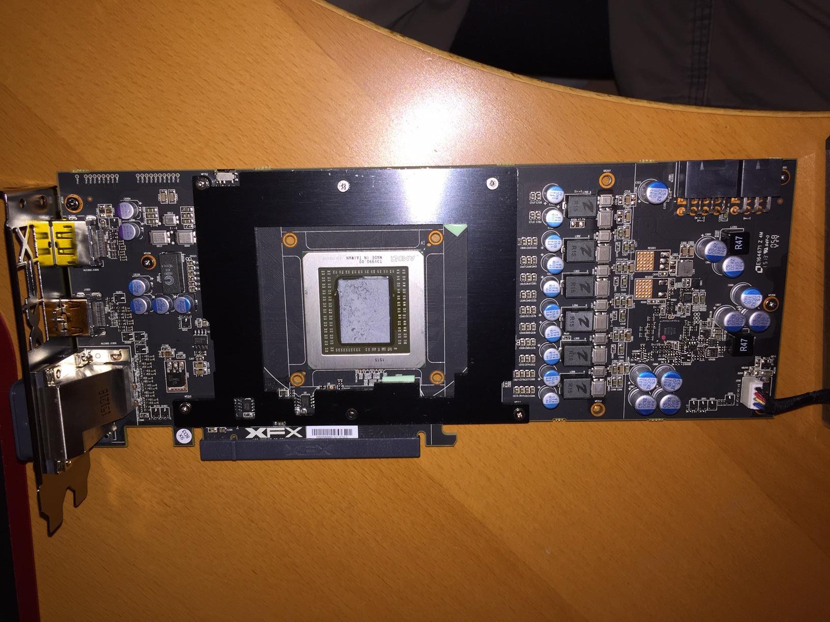 Radeon R9 390X Taken Apart, PCB Reveals a Complete Re-brand