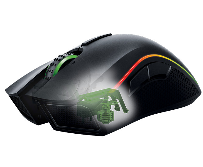 best gaming mice with thumbpad