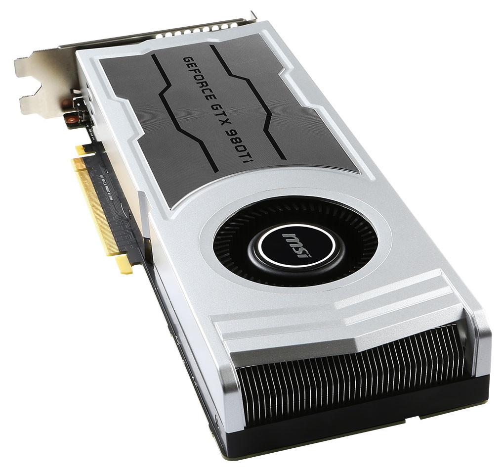Msi Unveils Geforce Gtx 980 Ti V1 Graphics Card
