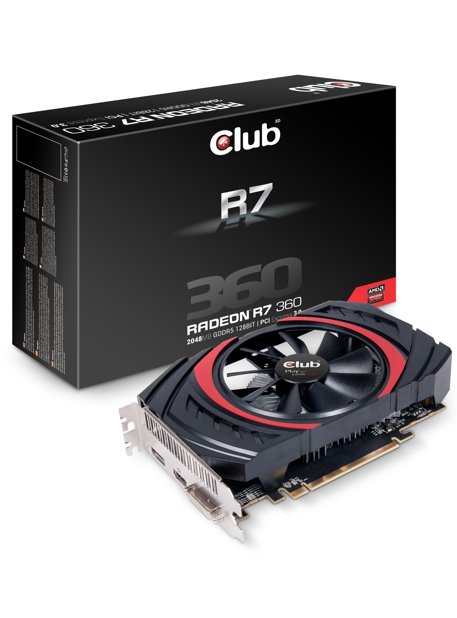Club3D Announces its Radeon R7 300 and R9 300 Series | TechPowerUp