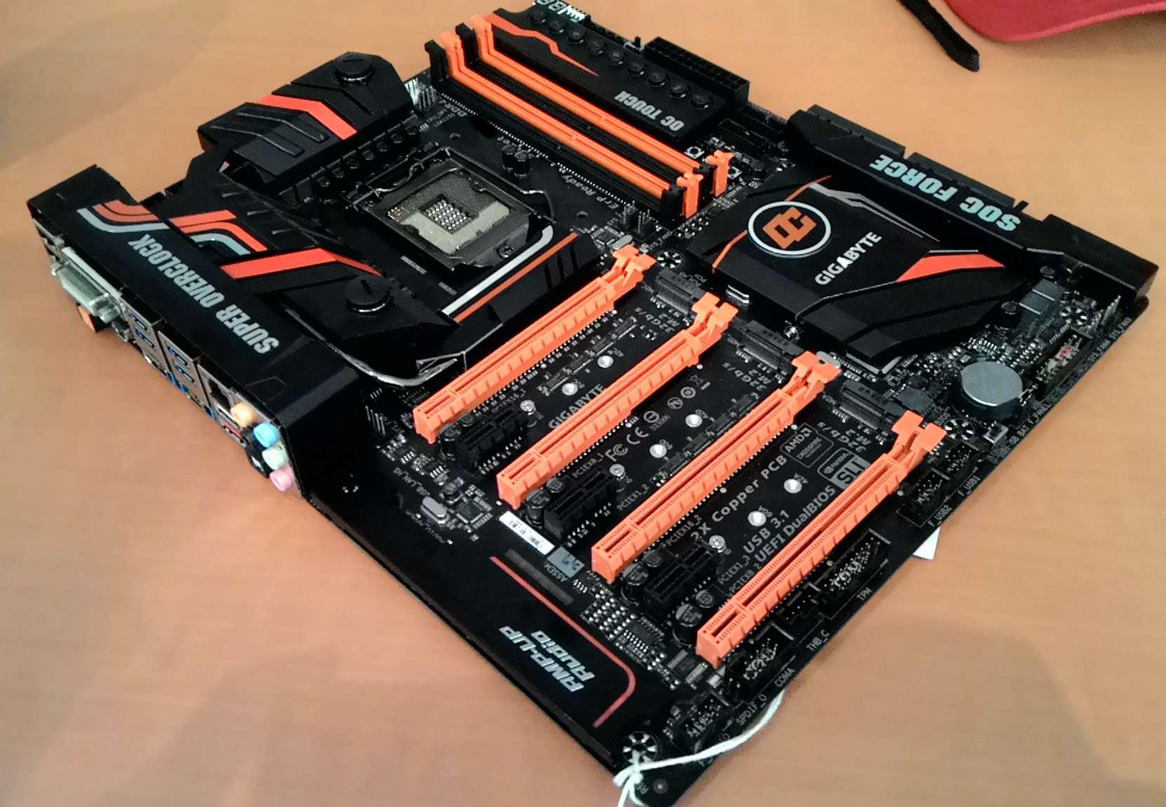 Latest Overclocking Programs System Info Benchmarking Stability Mainboard Motherboard Gigabyte Ga Z270 Phoenix Gaming Socket 1151 Kaby Lake Intel Tools