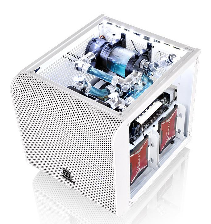 Thermaltake Unveils the Core V1 Snow Mini ITX Chassis