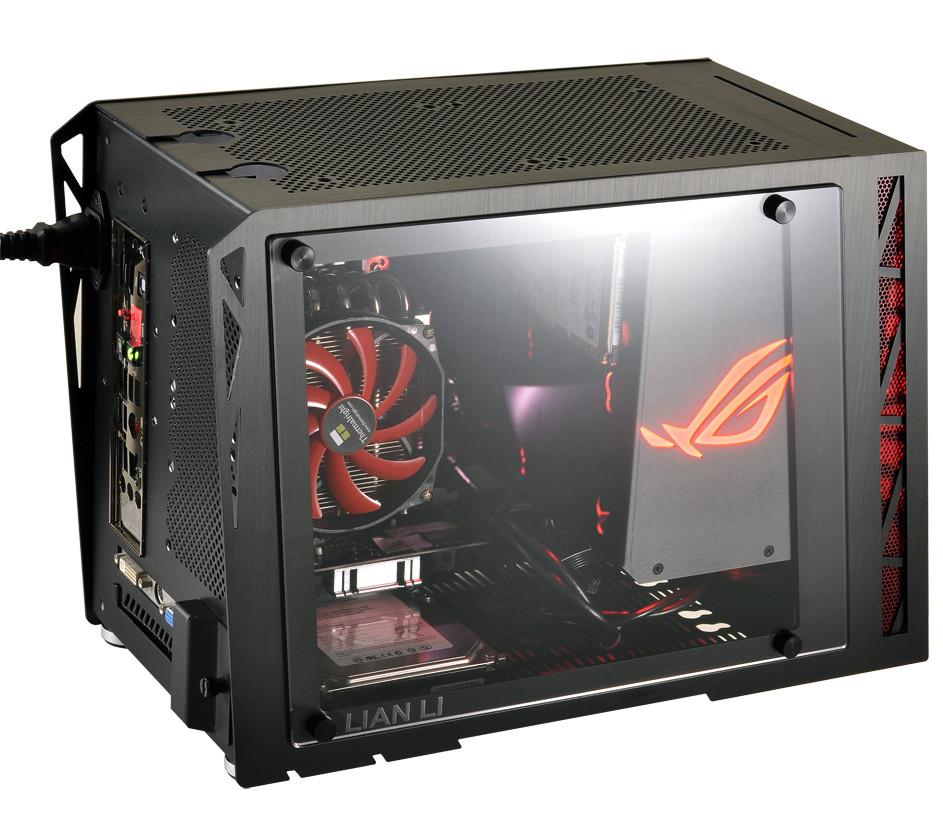 Lian Li Outs ASUS ROG-Certified PC-Q17 Mini-ITX Case | TechPowerUp Forums