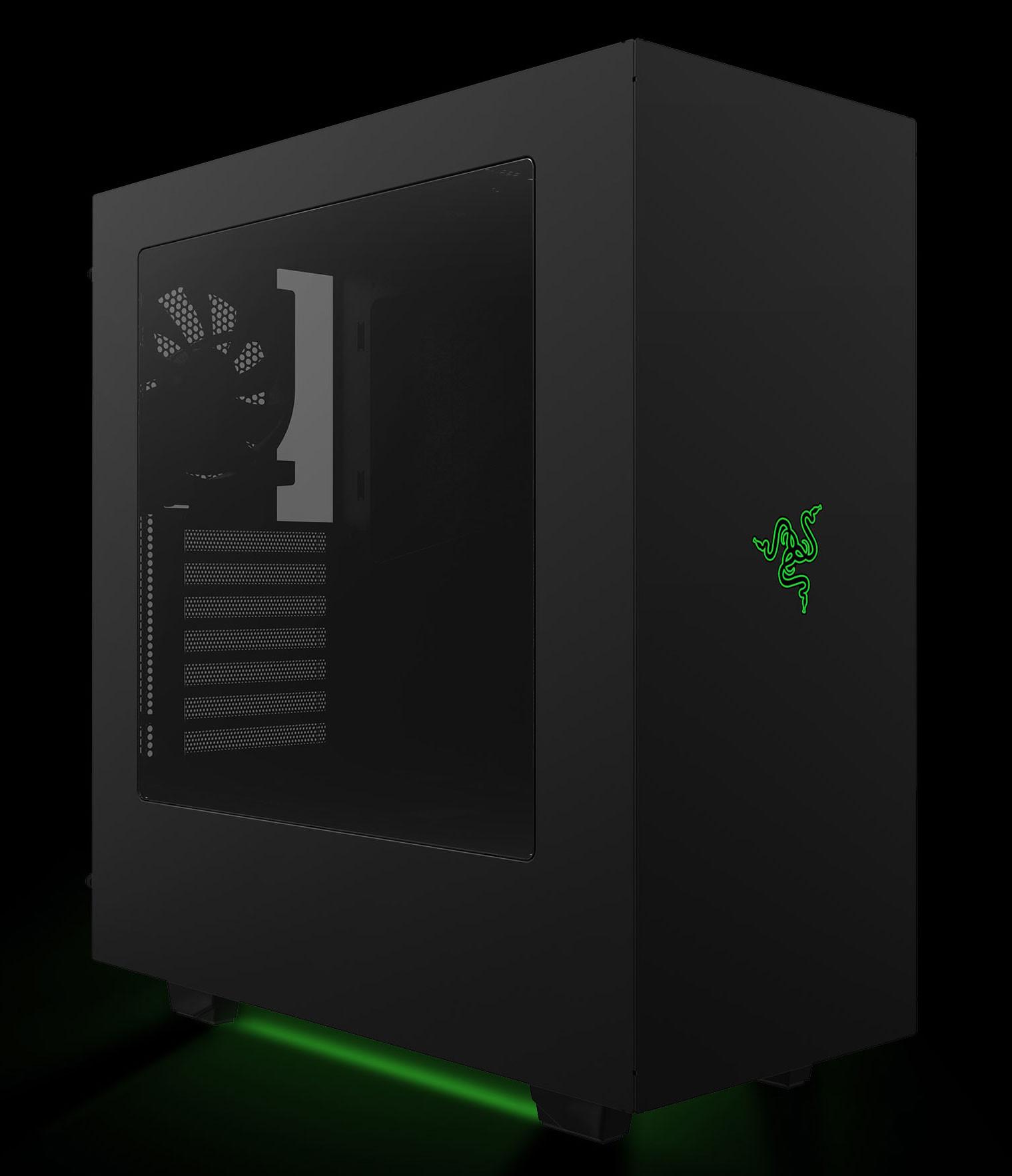 Razer Announces Custom Designed NZXT S340 PC Case : techPowerUp