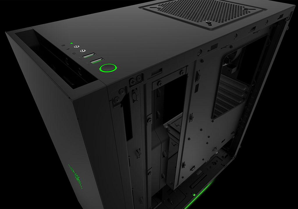 Razer Announces Custom Designed Nzxt S340 Pc Case
