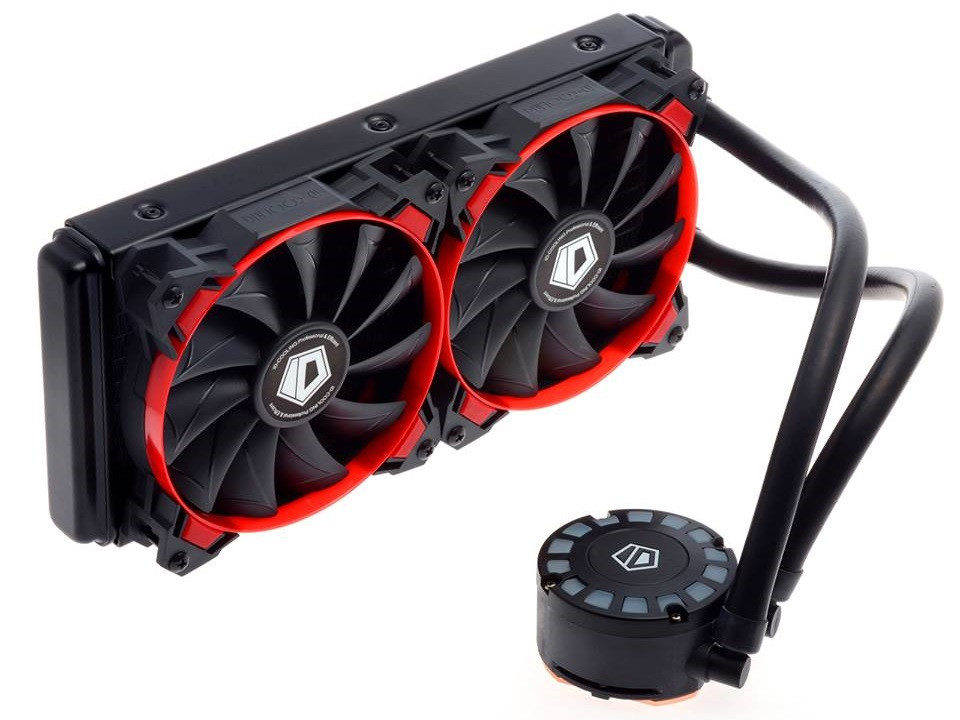 Id Cooling Intros Frostflow 240l Aio Cpu Cooler Techpowerup