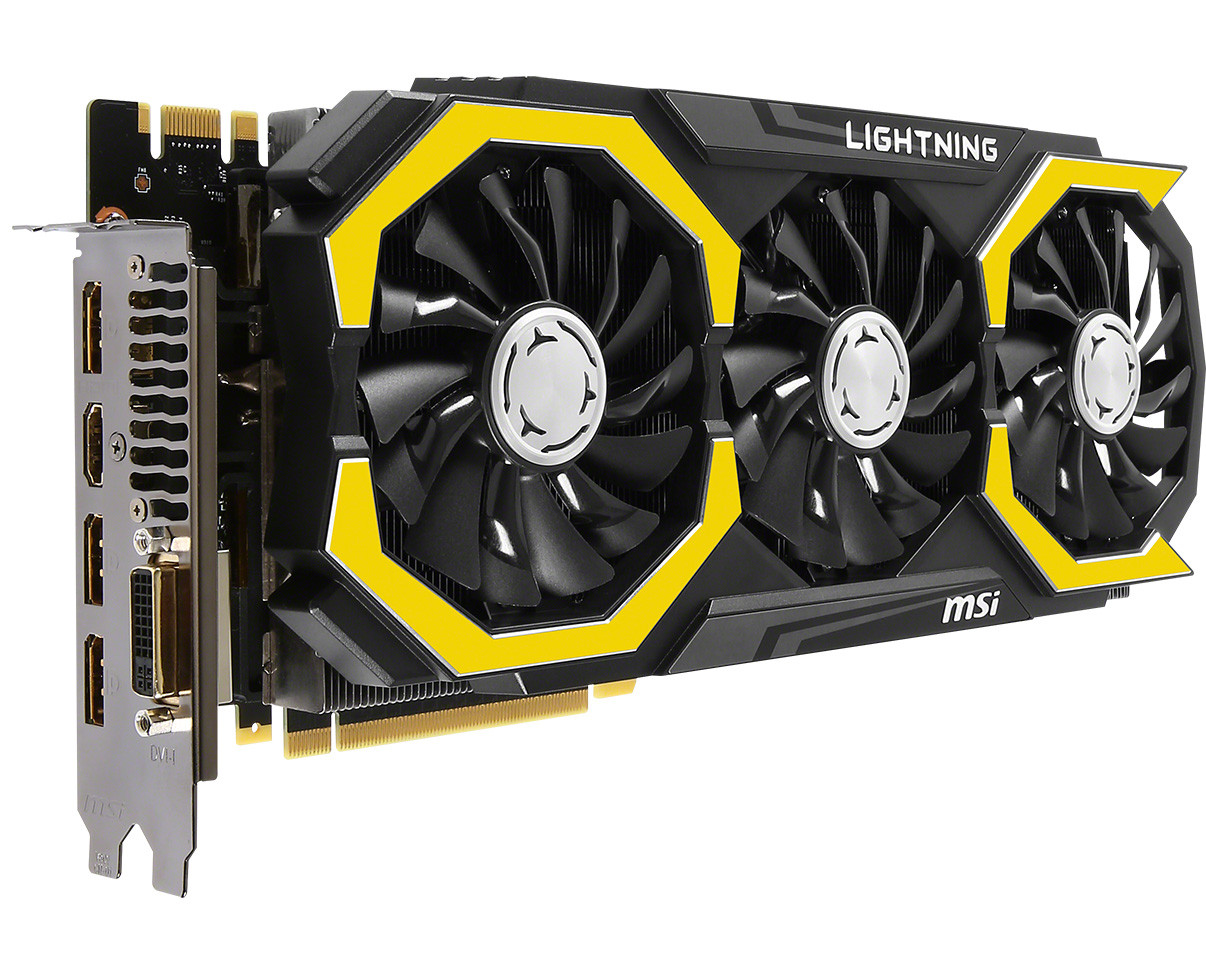 MSI Launches the GeForce GTX 980 Ti Lightning Graphics Card