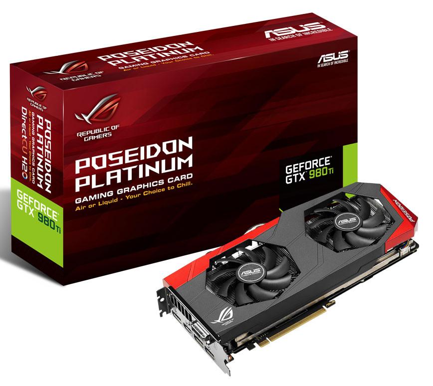 ASUS Announces GeForce GTX 980 Ti Poseidon Platinum Graphics