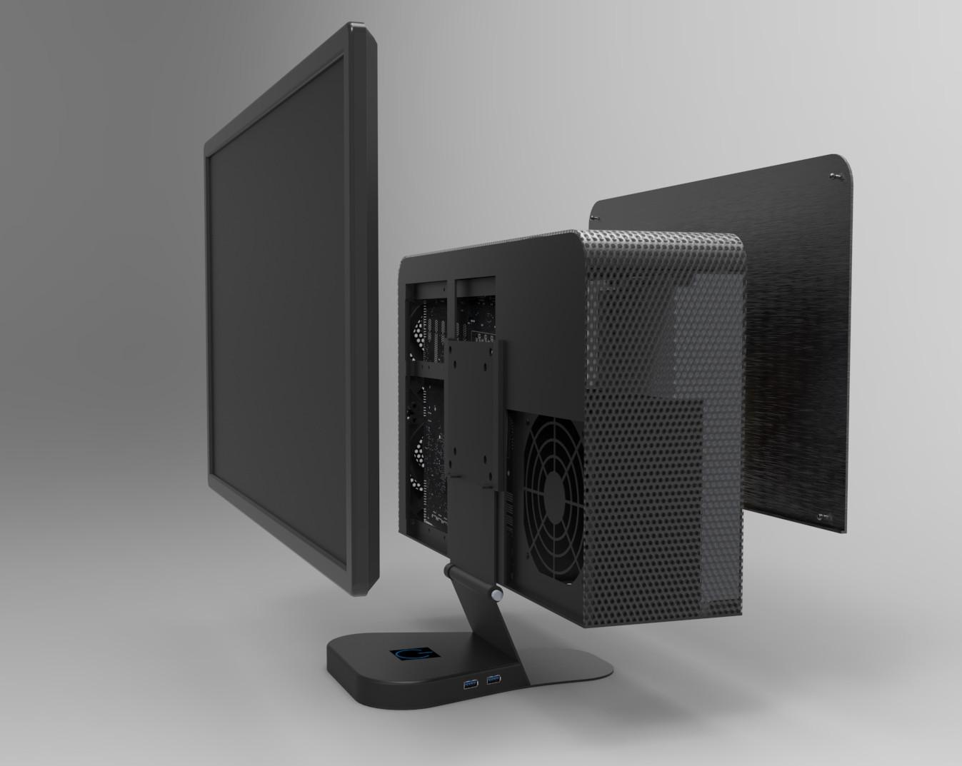 Crono Labs Designs Case Transforming Monitors Into Monster