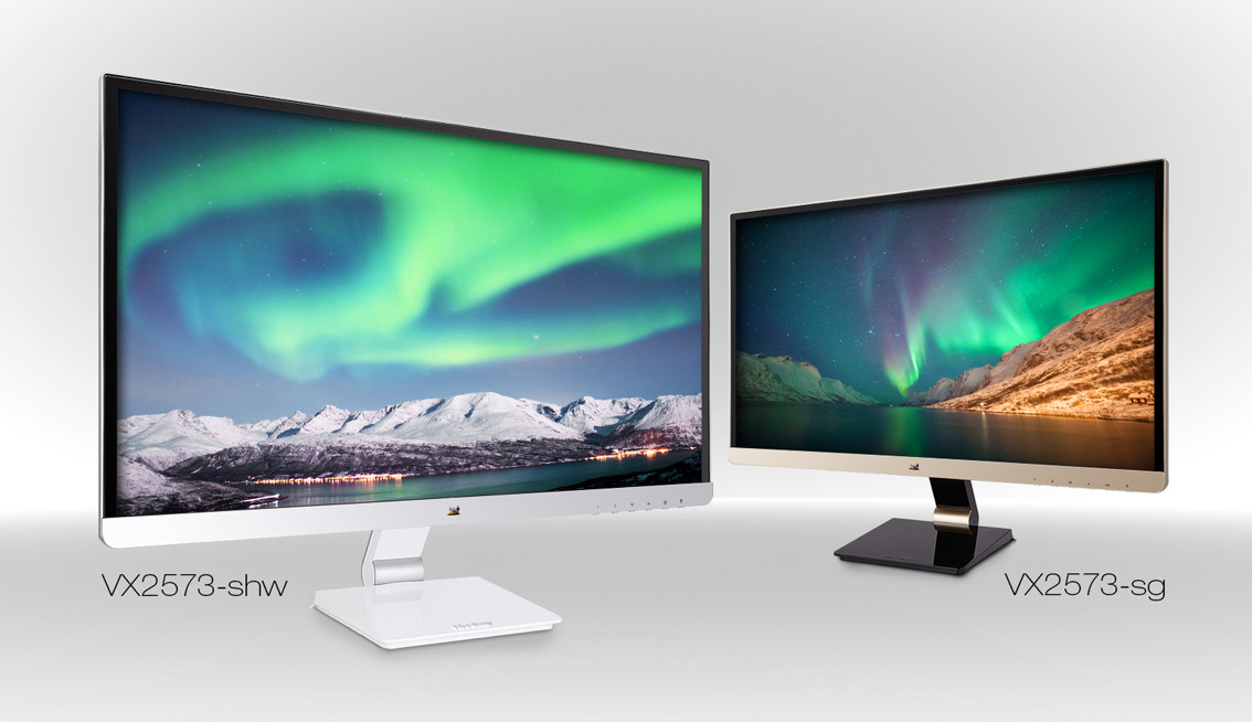 Viewsonic Intros A Pair Of 25 Inch Ips Monitors For The