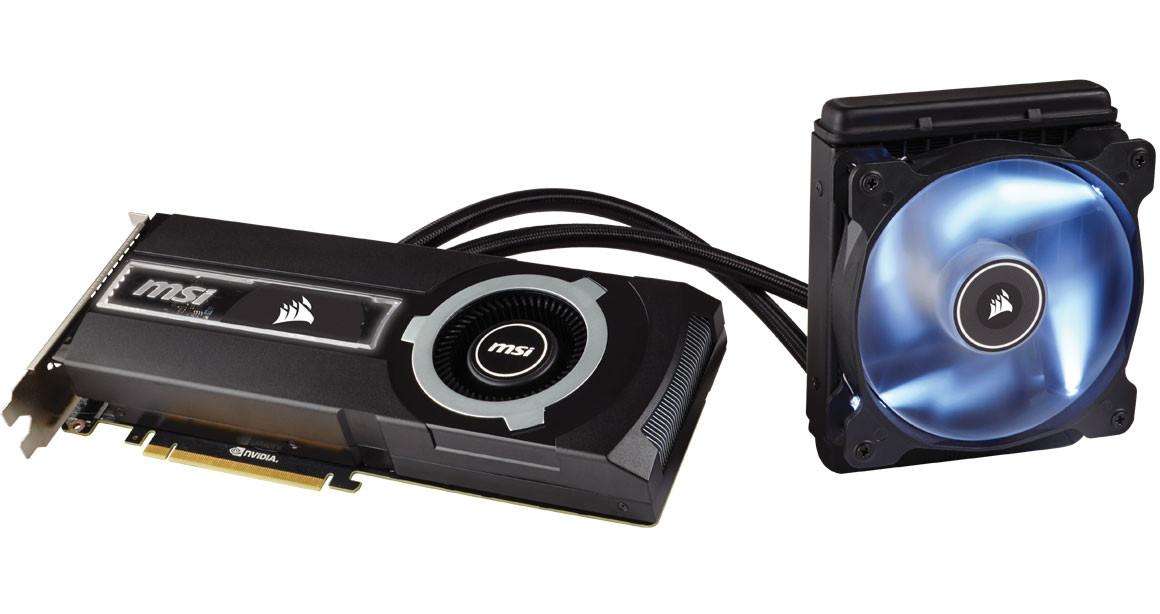 Msi And Corsair Announce Geforce Gtx 980 Ti Sea Hawk