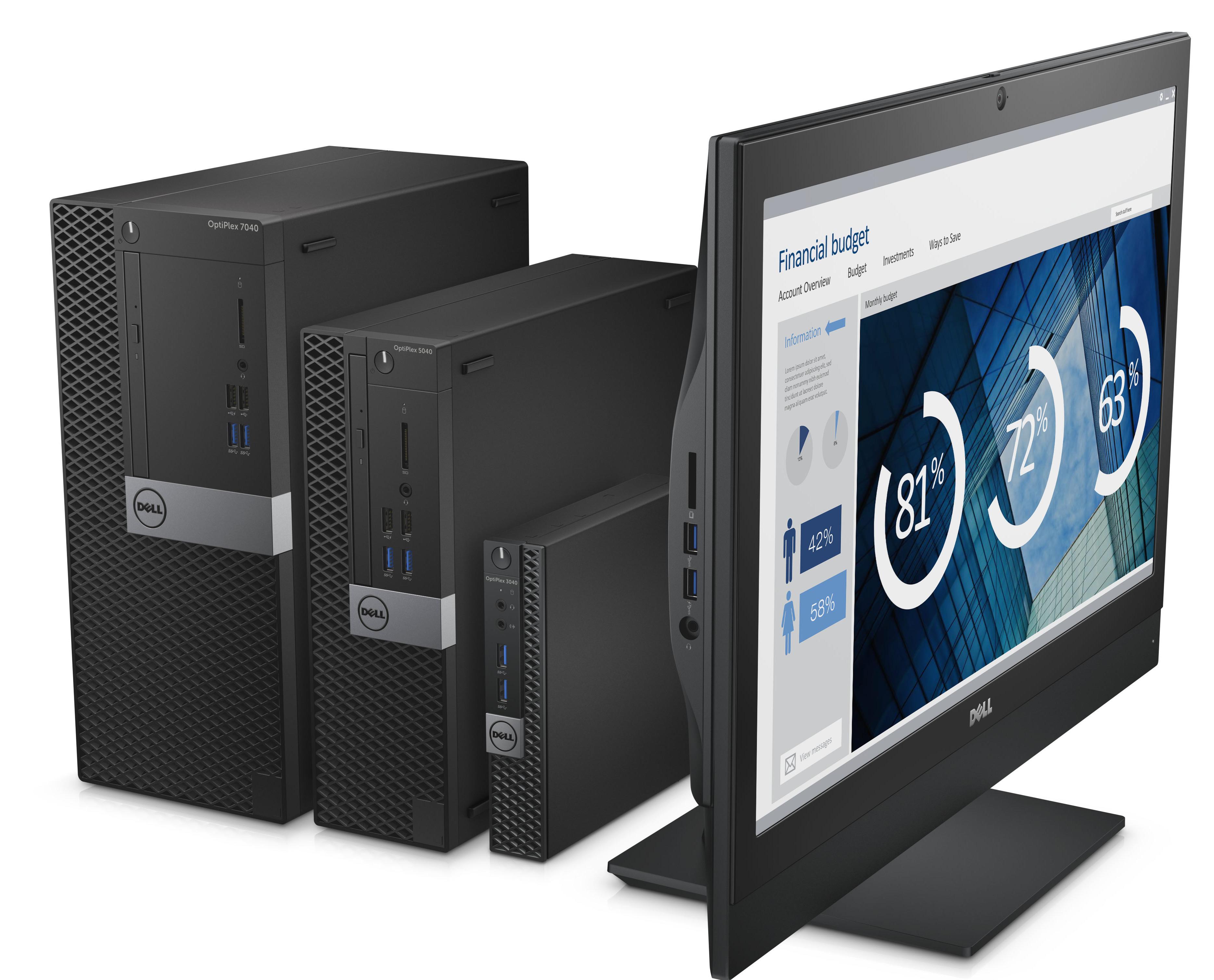 Dell Refreshes Its Optiplex Desktop Lineup
