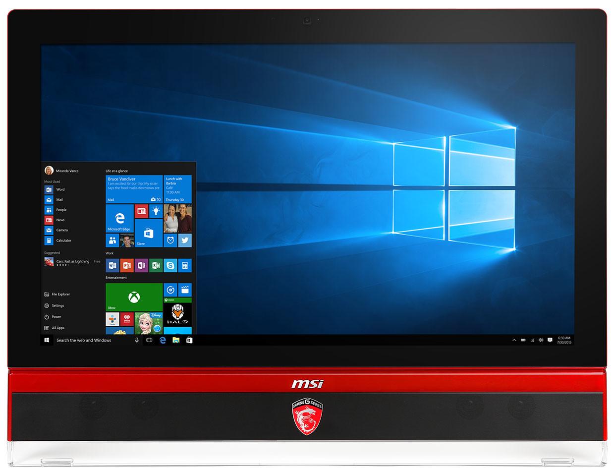 MSI Gaming 27 6QE Rivet Killer LAN Drivers for Windows Download
