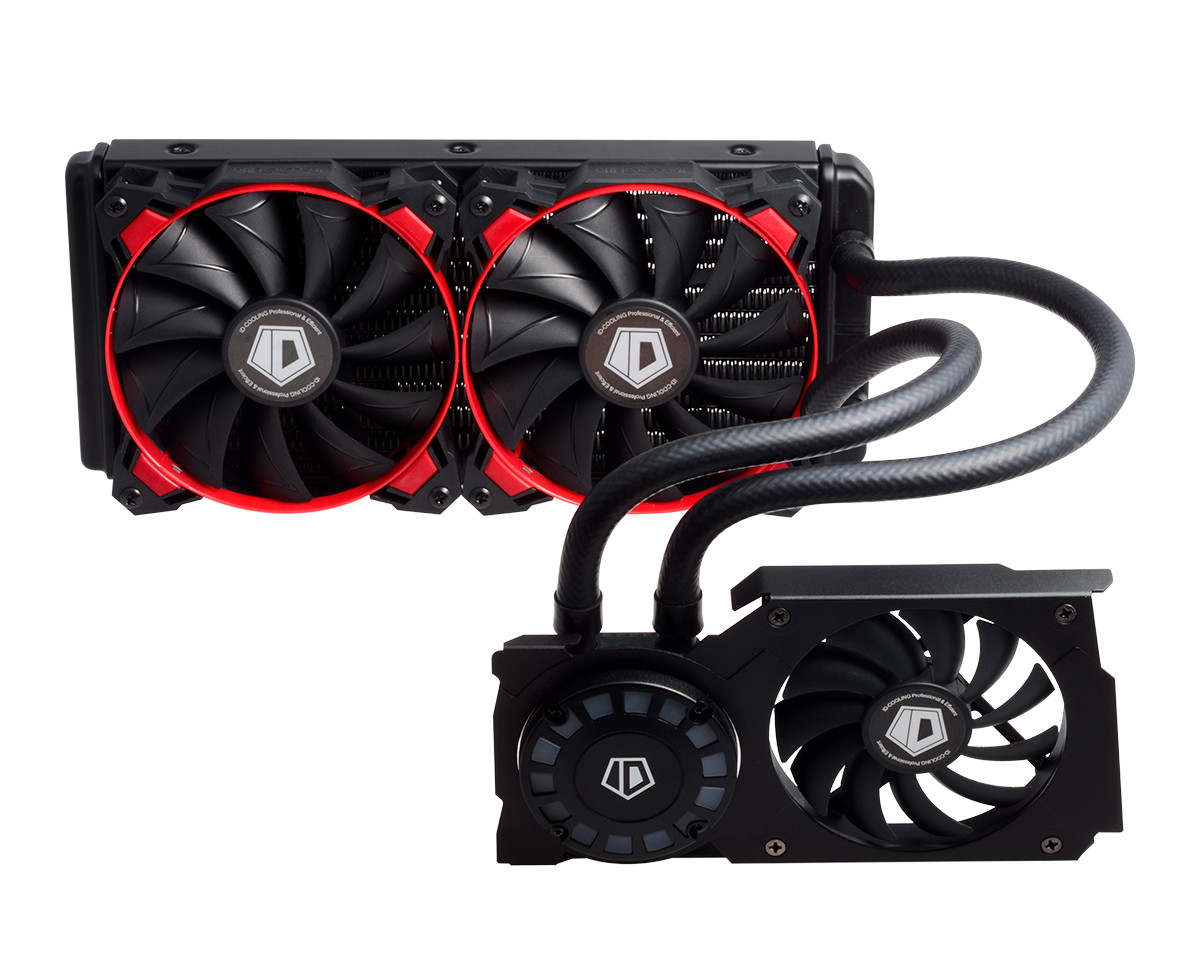 Id Cooling Intros Frostflow 240g All In One Liquid Vga