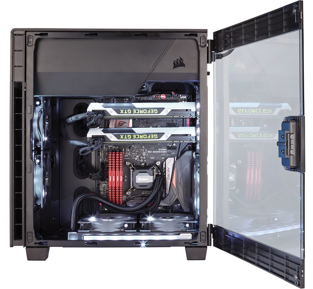 Corsair Unveils Its First Inverted Atx Cases The Carbide