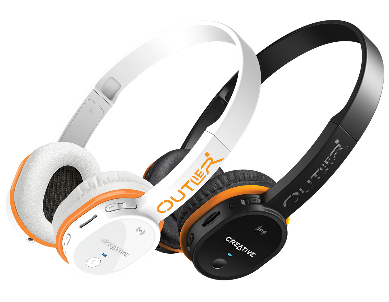 d2772fbcff2 The Creative Outlier also allows users to customize the look and feel of the  headphones. The Creative Outlier comes in two colors: pristine white or  bold ...