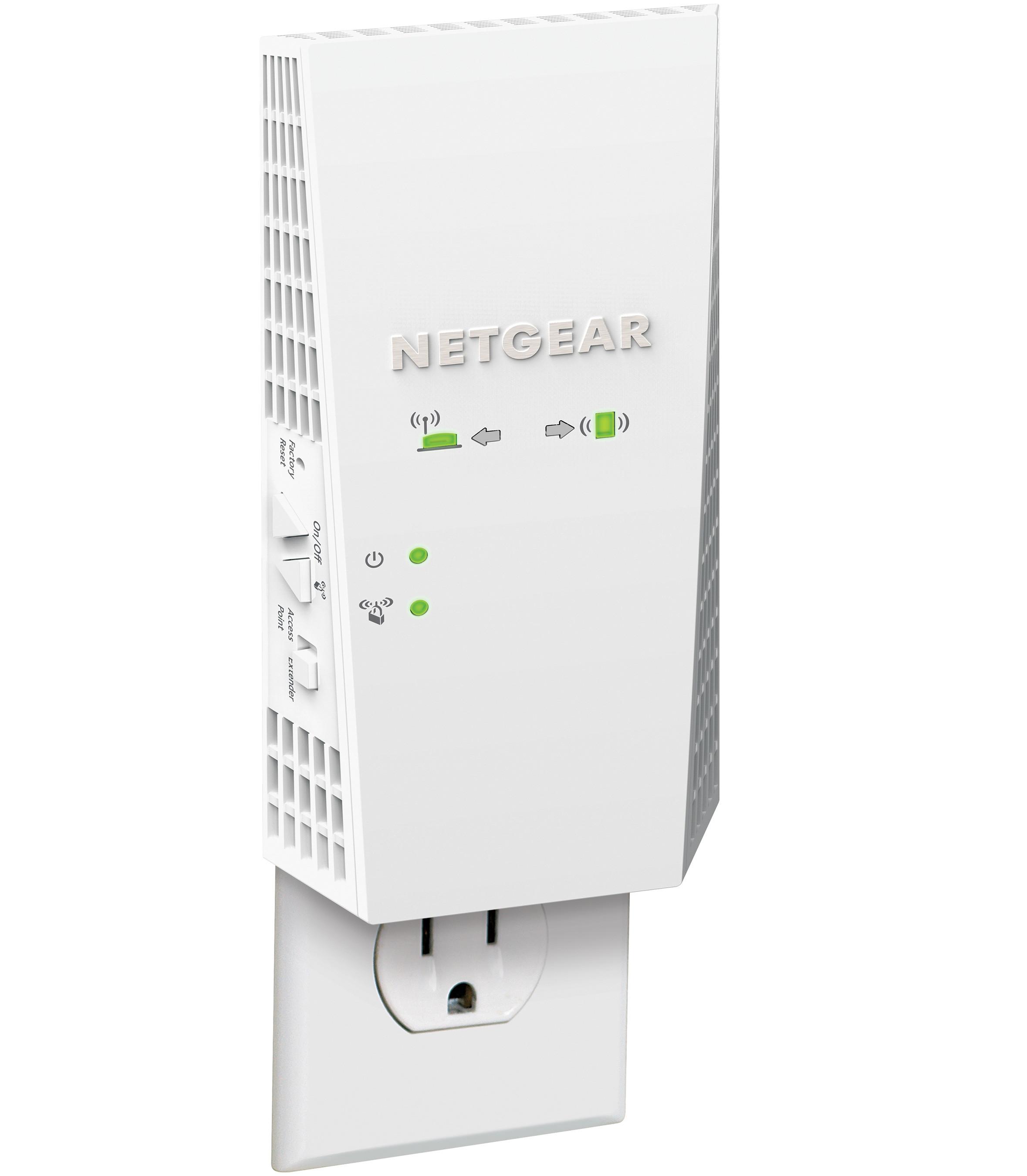 NETGEAR Announces Wall-Plug WiFi Range Extender with 2 2
