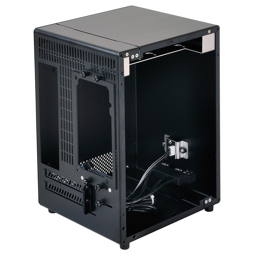 Lian li introduces the fanless micro itx pc q04 pc chassis for Case itx fanless