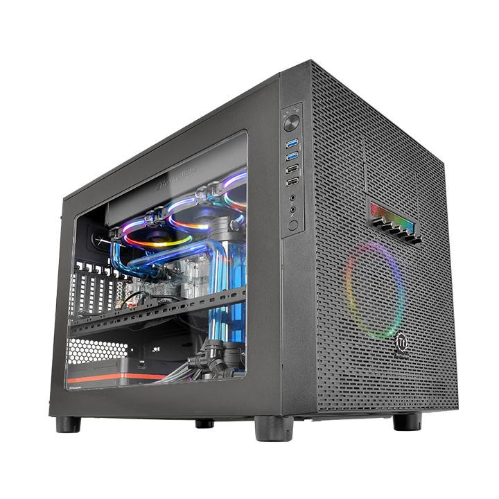 thermaltake announces the core x5 and core x5 riing cases techpowerup. Black Bedroom Furniture Sets. Home Design Ideas