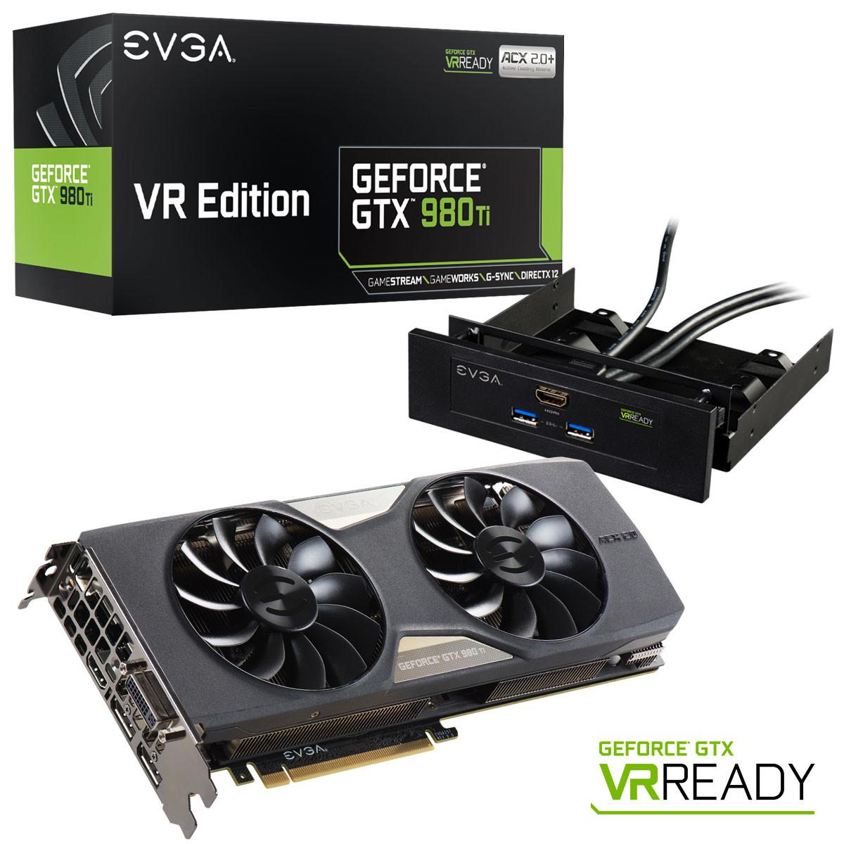 EVGA GeForce GTX 980 Ti ACX SC+ ACX 2.0+ Graphics Card