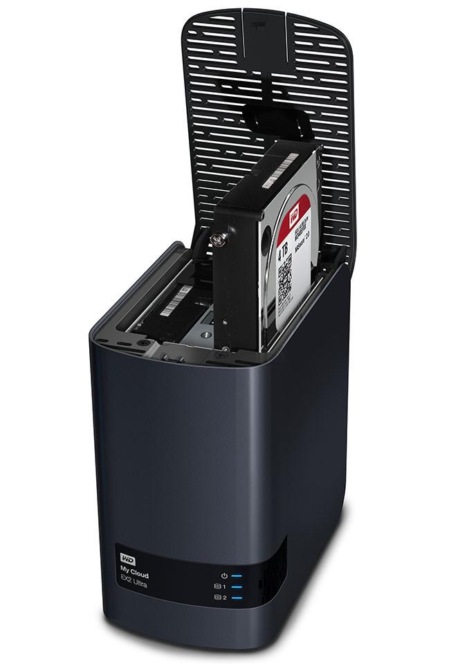 Western Digital Announces the My Cloud EX2 Ultra NAS