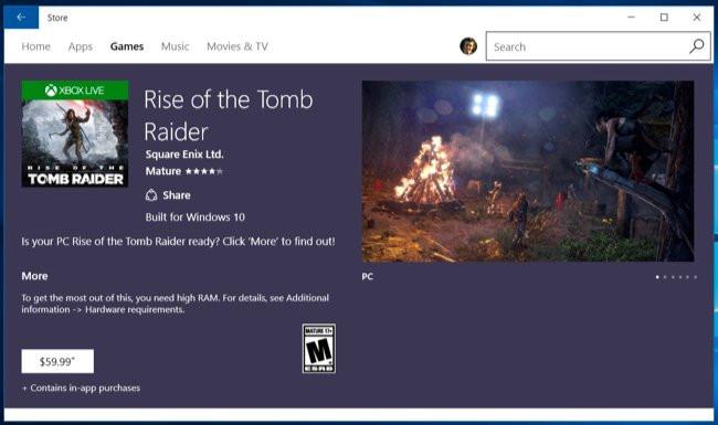 Windows Store Games won't have VSync, SLI/CrossFire, Fullscreen or
