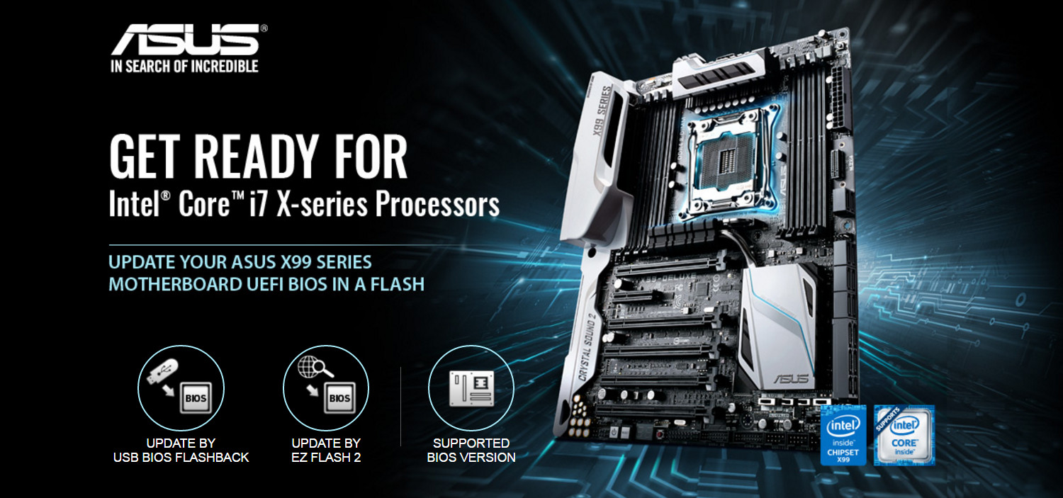 ASUS Announces Support for Upcoming Intel Core i7 X-Series