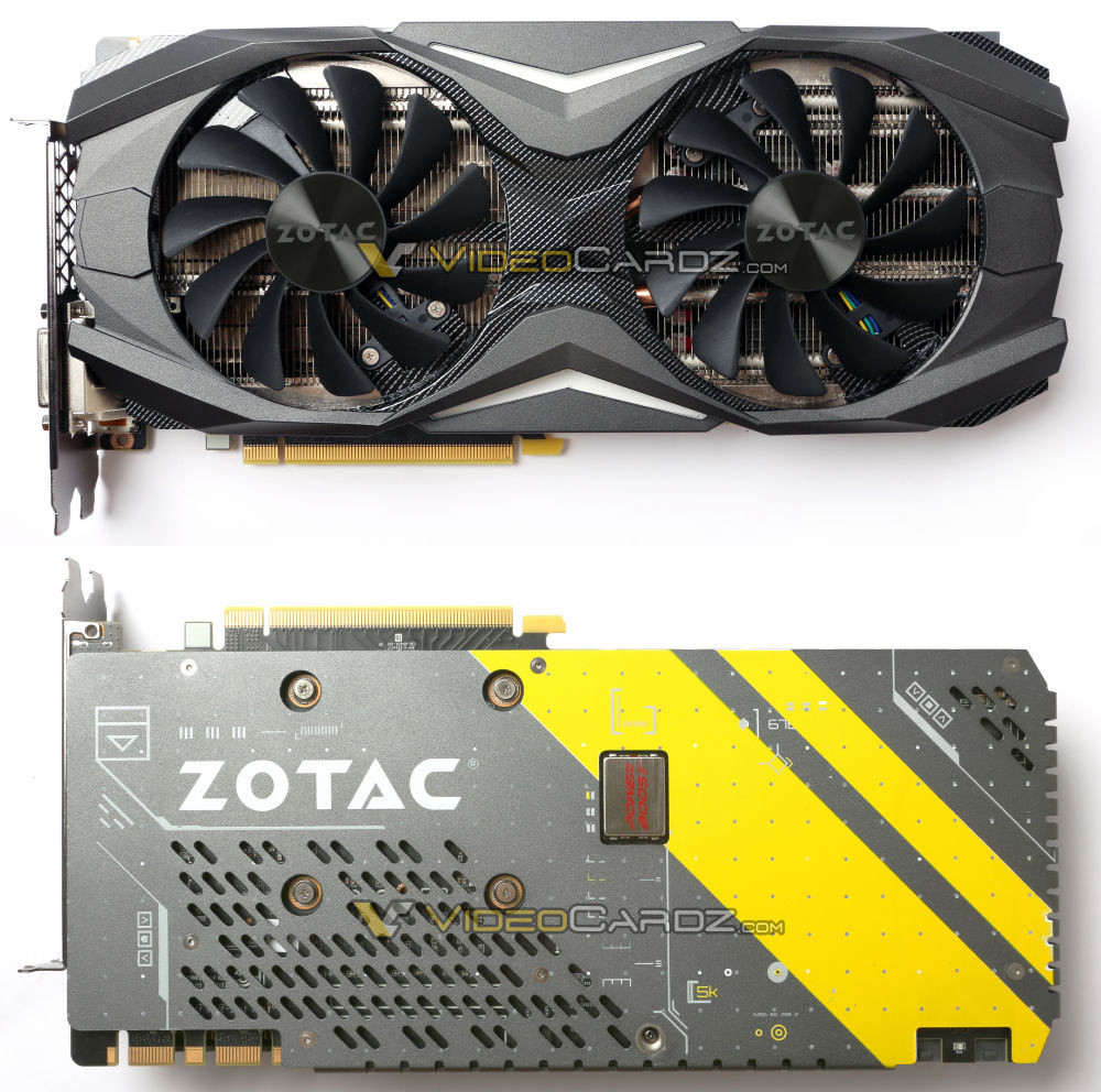 ZOTAC GTX 1080 AMP! and AMP! Extreme Graphics Cards Pictured