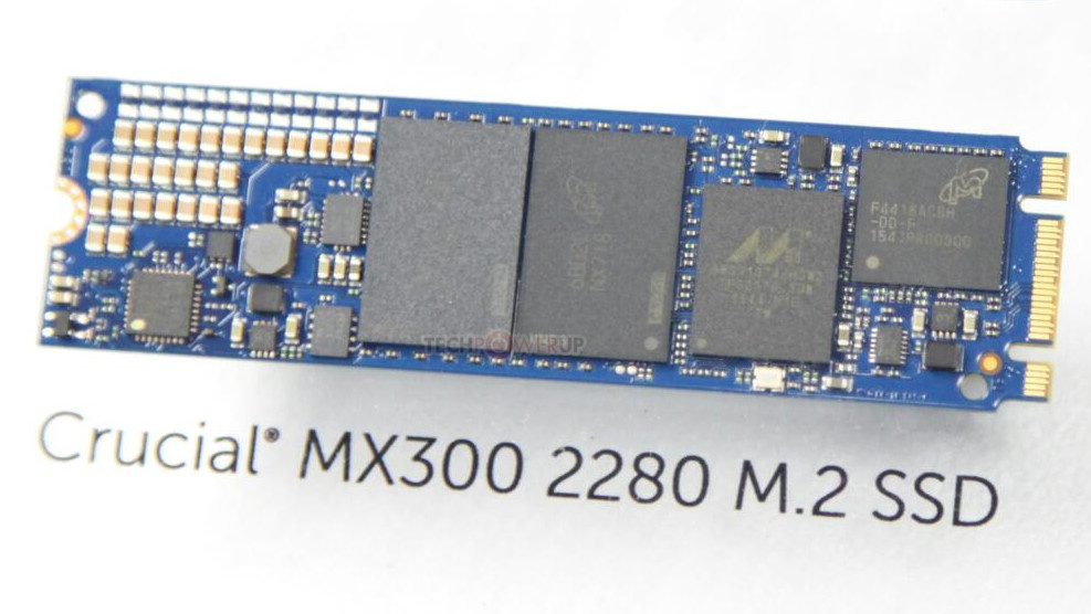 Crucial MX300 M.2 Form-factor SSD Pictured | TechPowerUp Forums