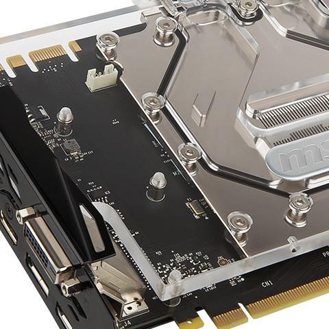MSI Releases the GTX 1080 and GTX 1070 SeaHawk EK X Series