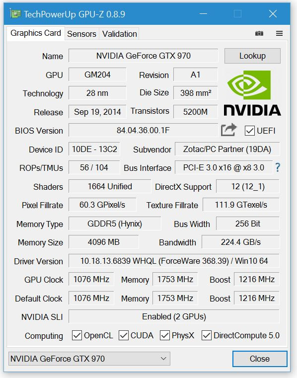 TechPowerUp Releases GPU-Z 0 8 9 | TechPowerUp