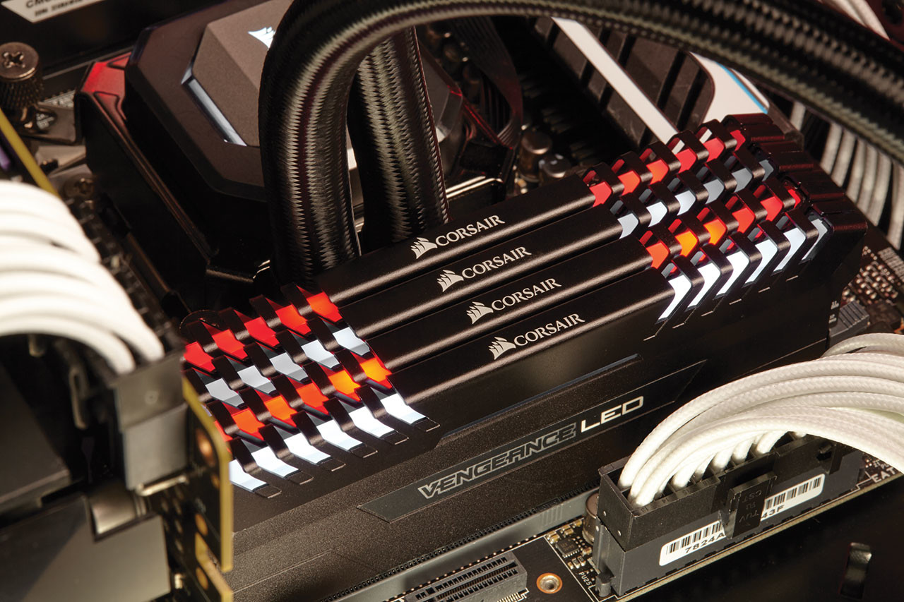 Corsair Lights Up DDR4 with New Vengeance LED Performance ...