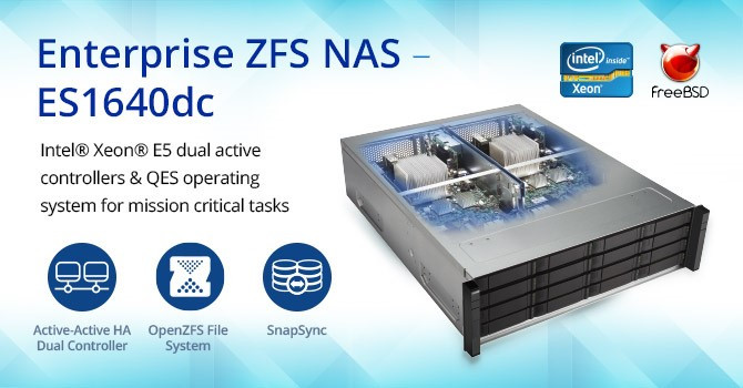 Qnap launches enterprise zfs nas es1640dc techpowerup forums for Zfs pool design