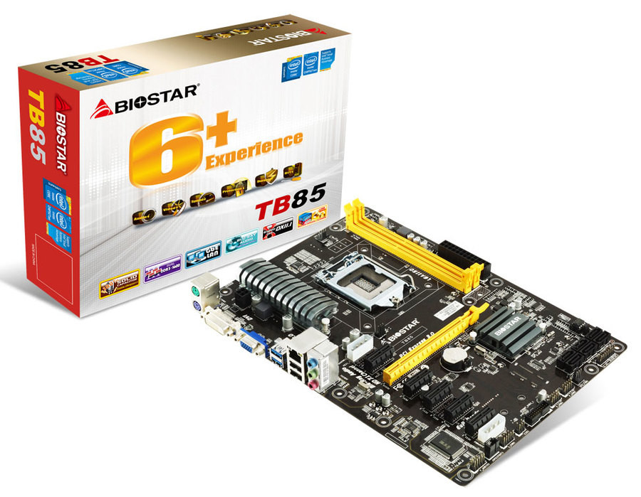 BIOSTAR Announces TB85 Motherboard, Made for Mining | TechPowerUp