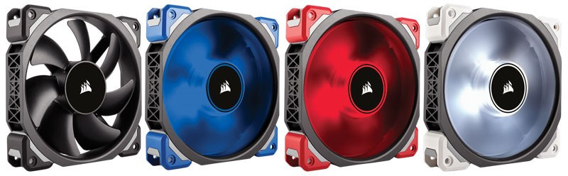 CORSAIR Launches New ML Series Fans With Magnetic Levitation