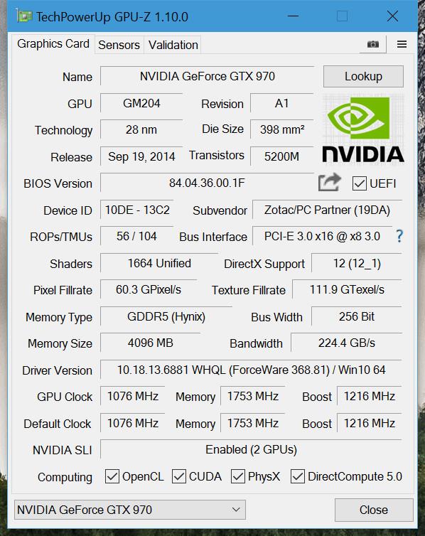 TechPowerUp Releases GPU-Z 1.10.0   TechPowerUp Forums