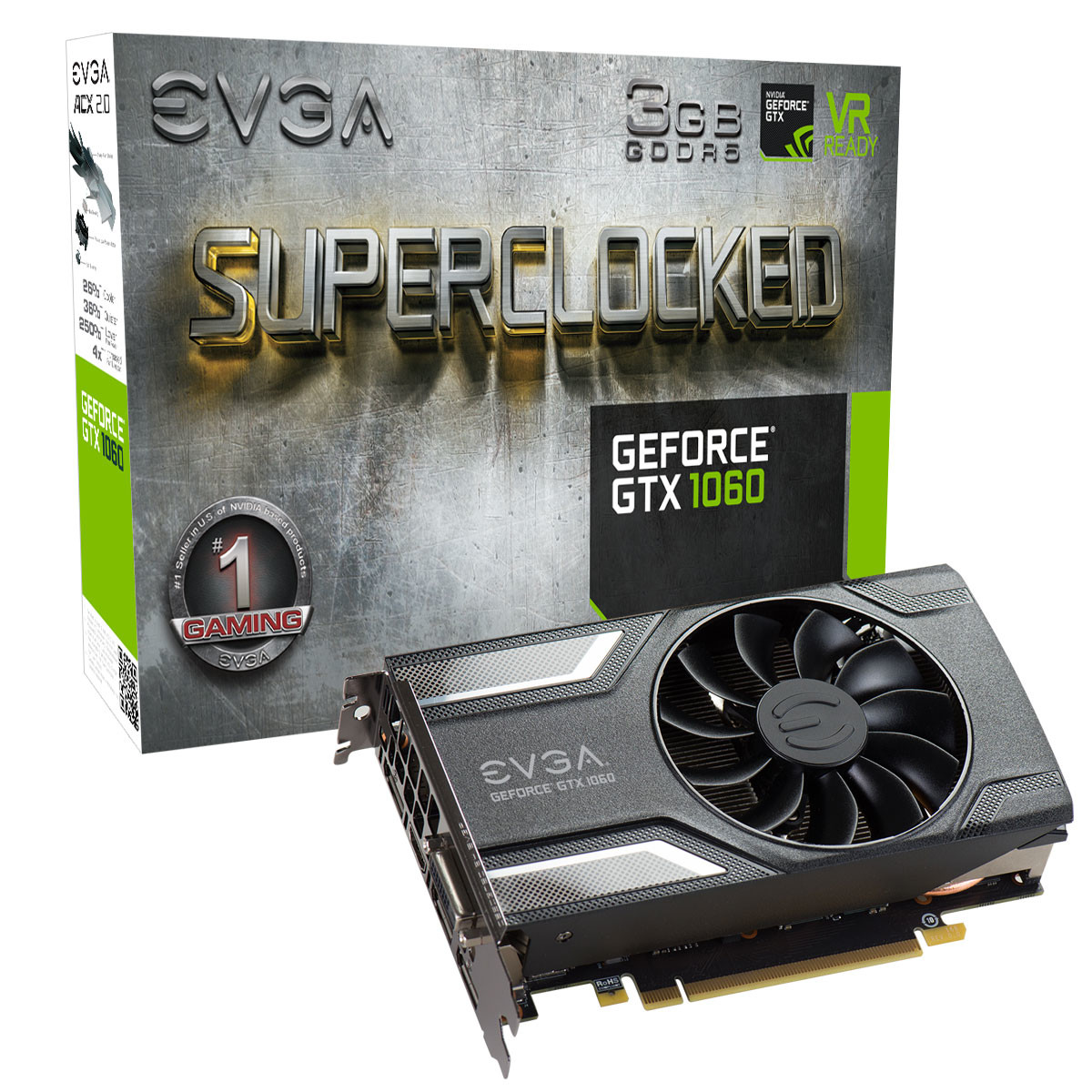 EVGA Announces its GeForce GTX 1060 3GB Graphics Cards | TechPowerUp