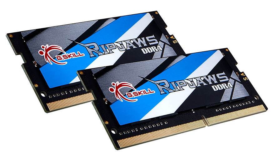 G Skill Achieves First CMTL-Approved DDR4 SO-DIMM Kit for Intel