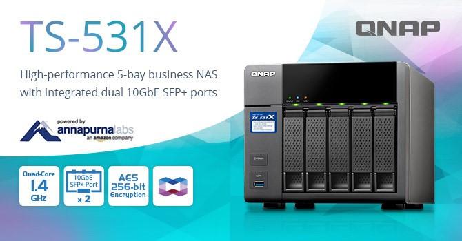 QNAP Announces TS-531X 5-bay Business NAS | TechPowerUp