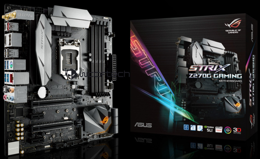 ASUS ROG Strix Z270G Motherboard Leaked | TechPowerUp