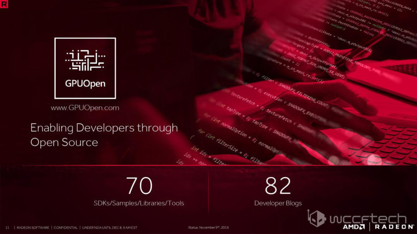 AMD Radeon Software Crimson ReLive Drivers Information