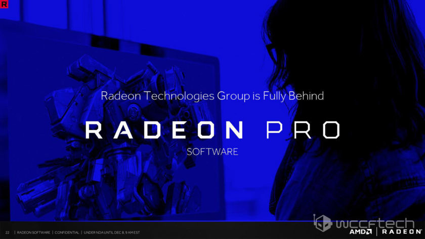 AMD Radeon Software Crimson ReLive Pro Drivers Information Also
