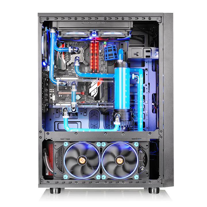 Thermaltake Announces The Core X71 Tempered Glass Edition