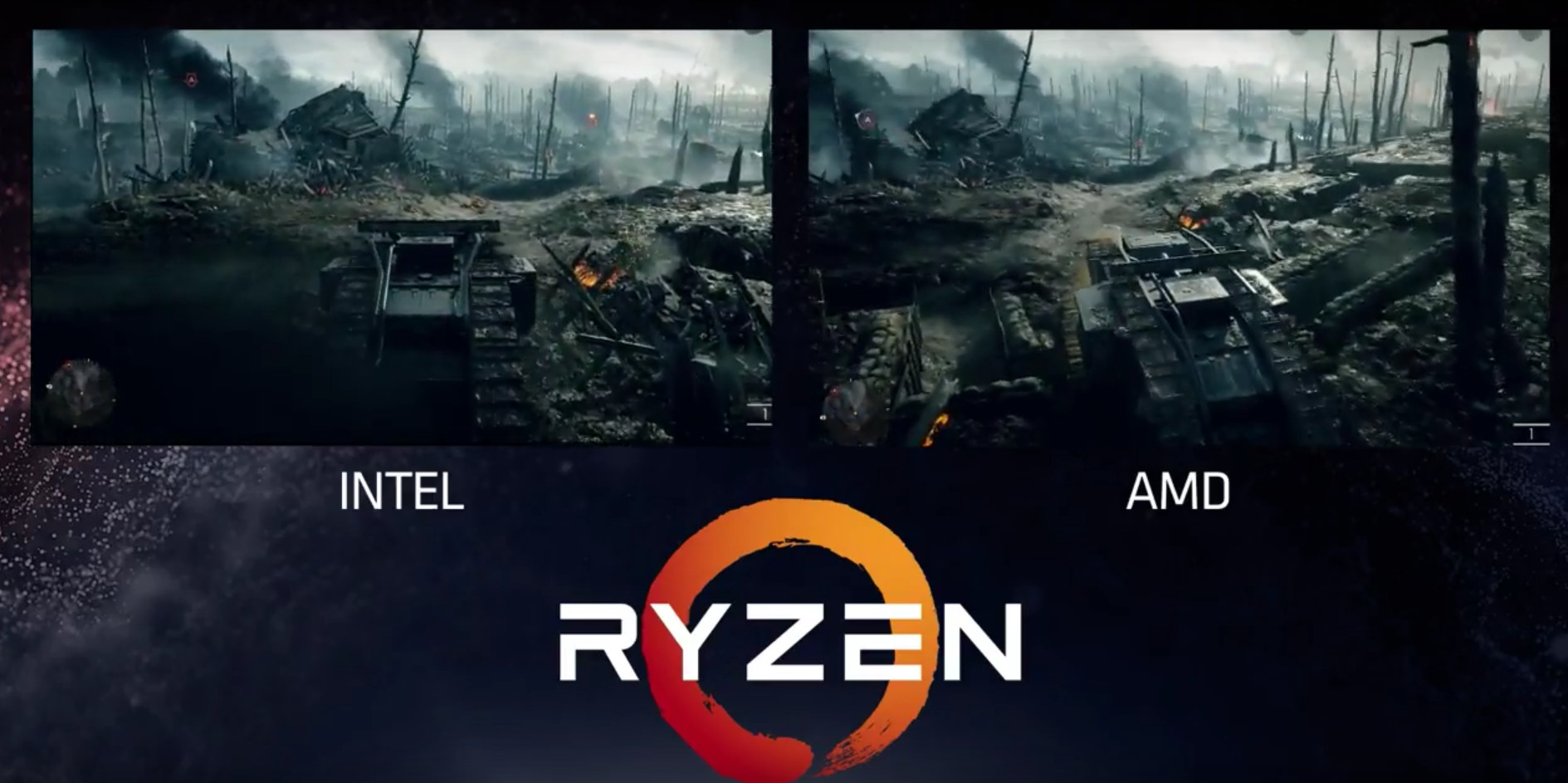 AMD RYZEN Demo Event - Beats $1,100 8-Core i7-6900K, With