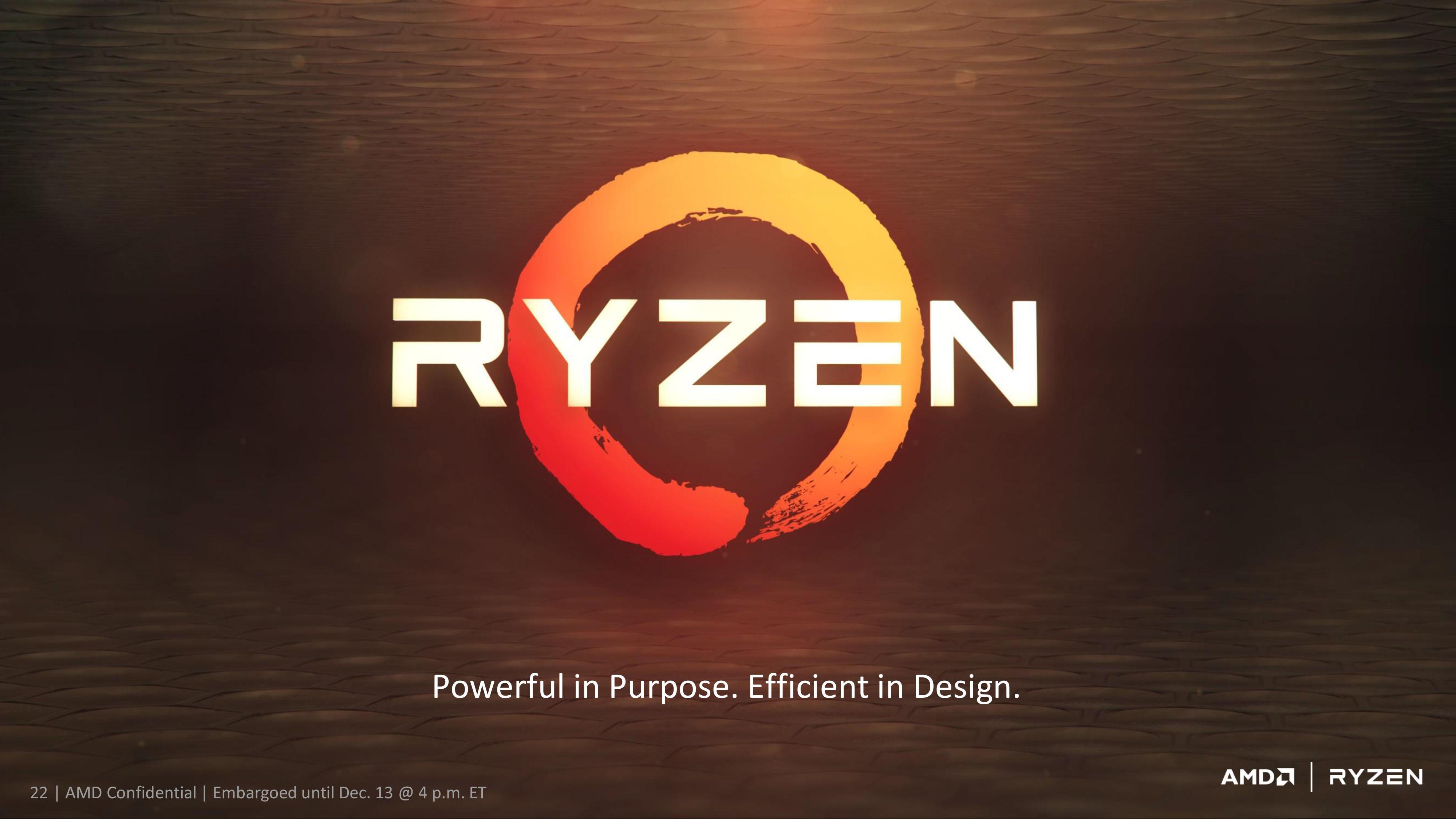 Hd wallpaper zen - Amd Ryzen Demo Event Beats 1 100 8 Core I7 6900k With