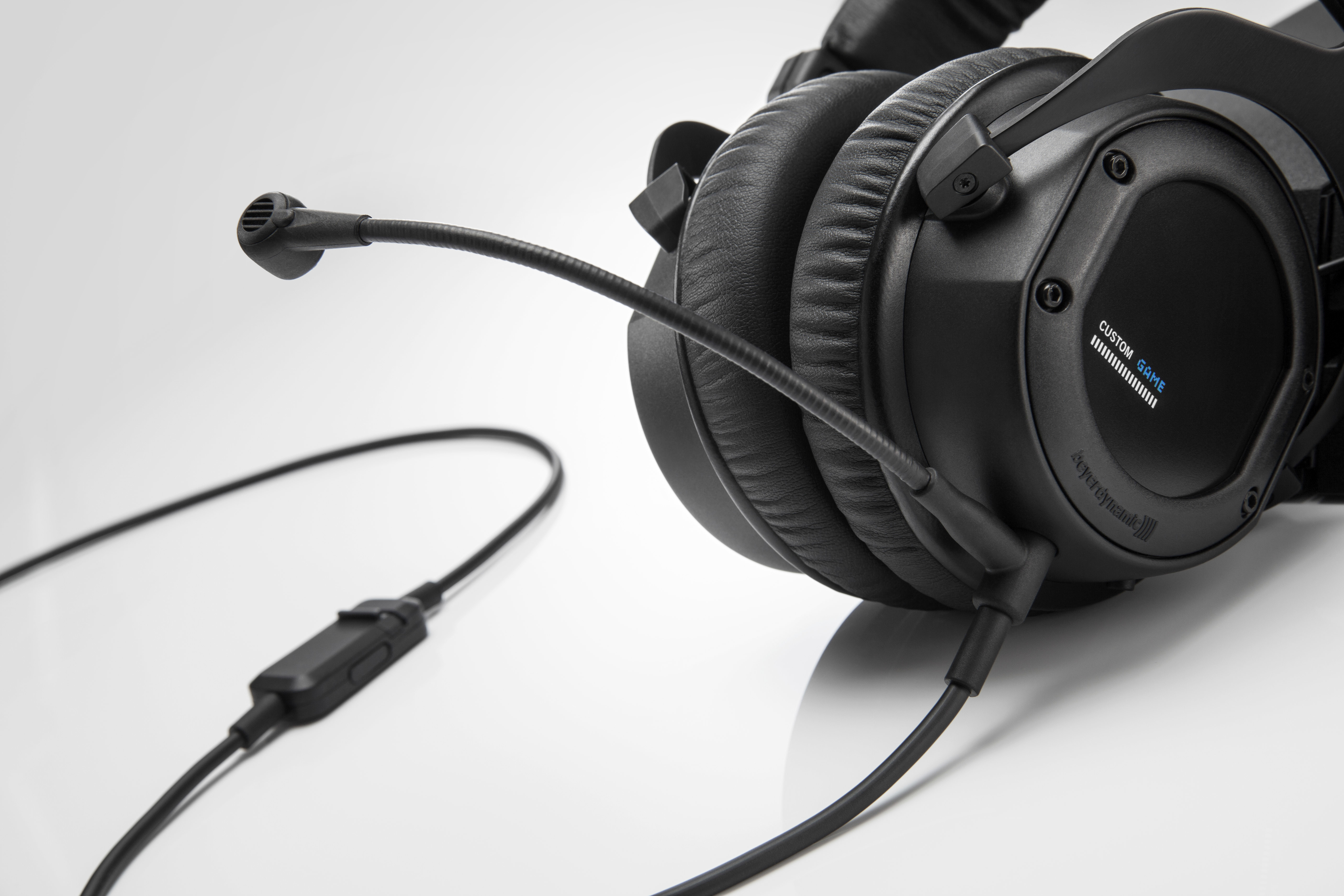Beyerdynamic Announces The Custom Game Headset To Be Presented At Headphone Dtx 350m Take Typical Sound Slider For Example It Comes With Non Slip Sliders On Housing Which Adjust Bass Response Of As Desired